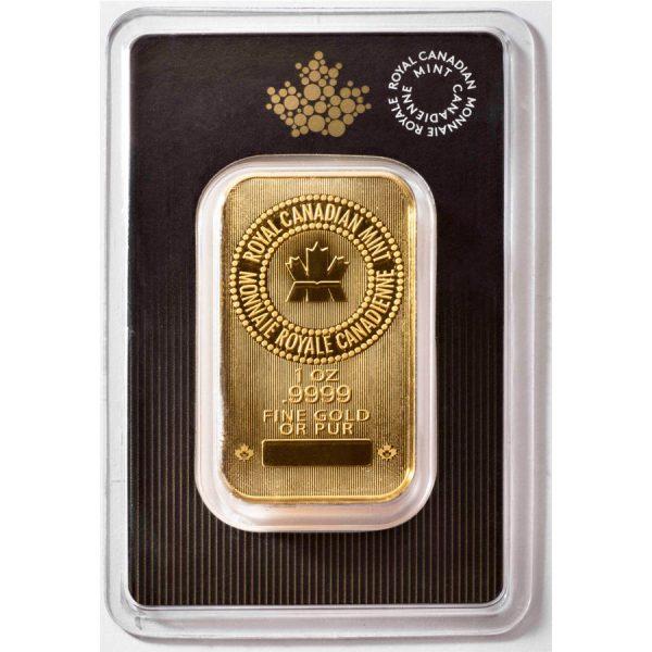 1 oz Royal Canadian Mint Gold Bar