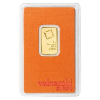 5 gram Valcambi Gold Bar