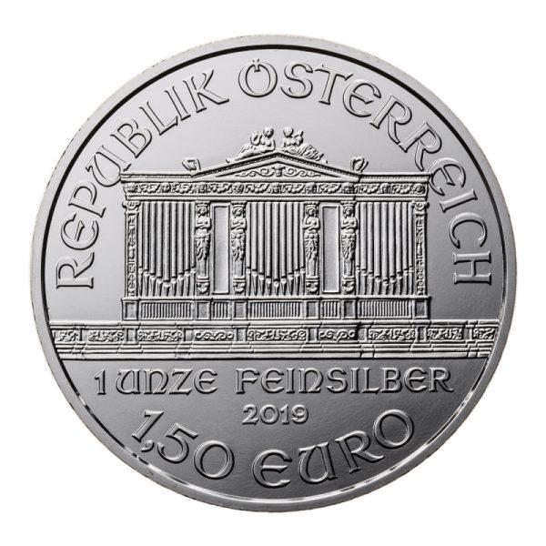 2019 AUSTRIAN SILVER PHILHARMONIC 1 OZ .999