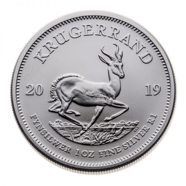 2021 SOUTH AFRICAN SILVER KRUGERRAND 1 OZ