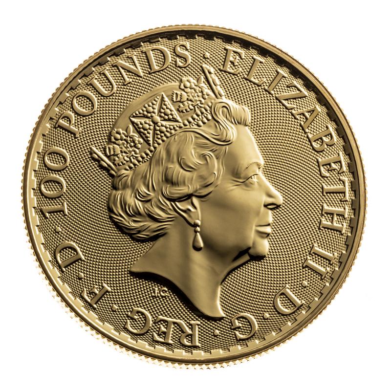 GREAT BRITAIN GOLD BRITANNIA 1 OZ .9999