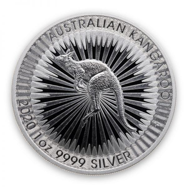 2020 SILVER AUSTRALIAN KANGAROO 1 OZ .9999