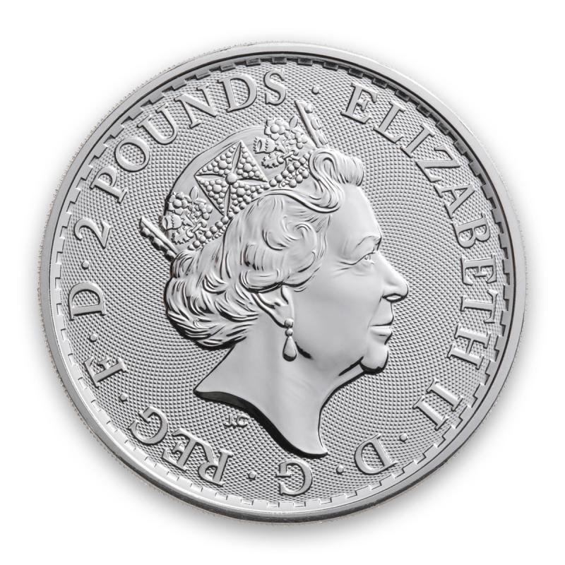 2020 GREAT BRITAIN SILVER BRITANNIA 1 OZ .999