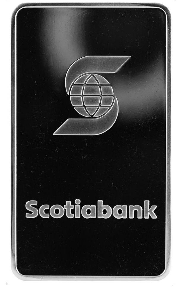 10 oz Scotiabank Silver Bar