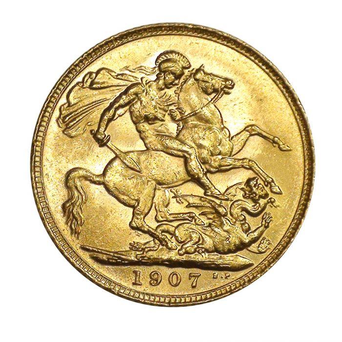 8 Gram Gold British Sovereign Random Year Coin