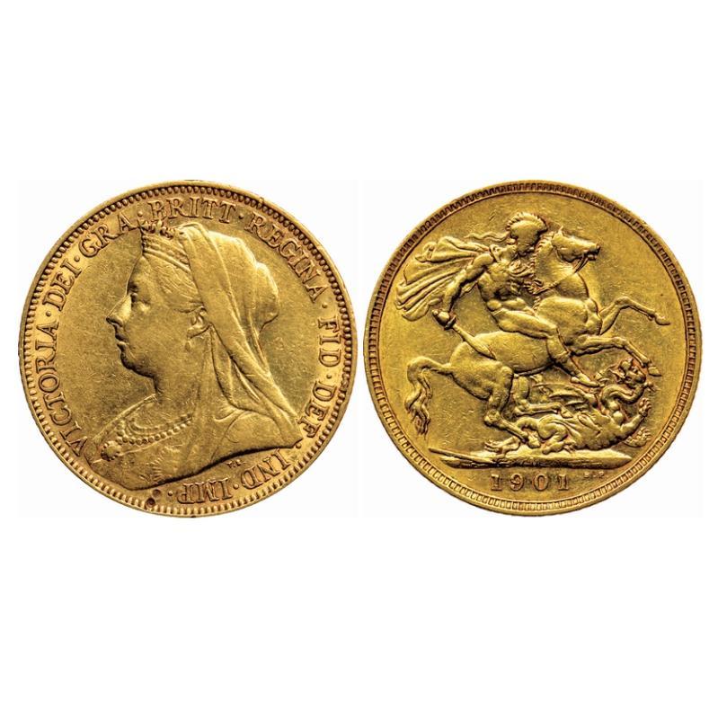 8 Gram Gold British Sovereign Coin