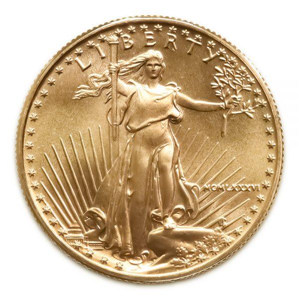 1/2 OZ Random Year American Eagle Gold Coin