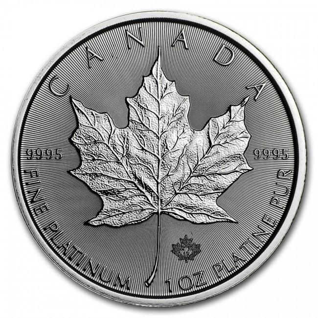 1 oz Canadian Maple Leaf Platinum Coin