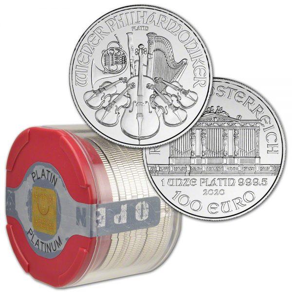 1 OZ Austrian Philharmonic Platinum Coin