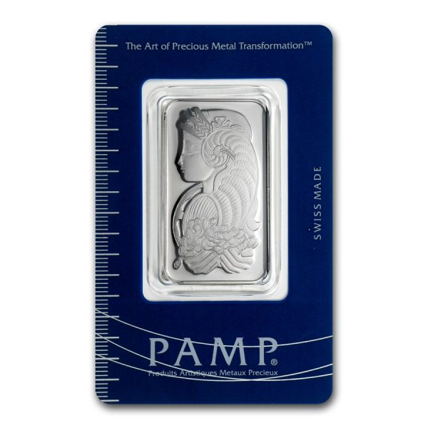 1 oz PAMP Fortuna Platinum bar