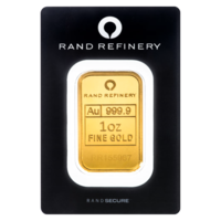 1 oz Rand Refinery Gold Bar