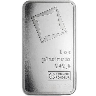 1 oz Valcambi Suisse Platinum bar