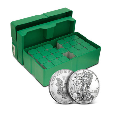 1 OZ AMERICAN EAGLE .999 (MONSTER BOX)
