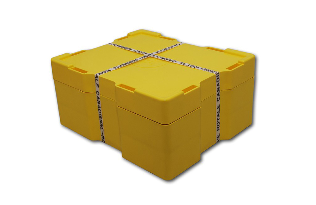 1 OZ SILVER MAPLE LEAF .9999(MONSTER BOX)