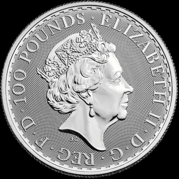 1 oz Britannia Platinum 2021 coin